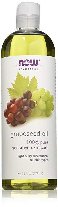 322172 4 oz Grapeseed Oil 100 Percent Pure Sensitive Skin Care for Unisex