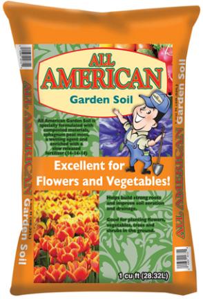 352 1 cu. ft. All American Garden Soil