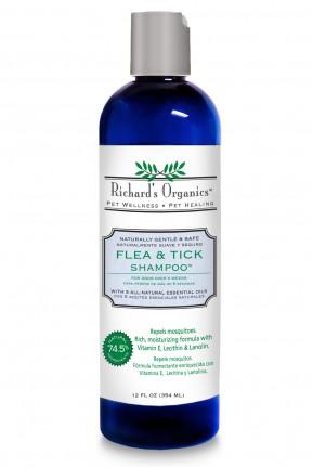 369165 Richards Flea-Tick Shampoo 12 Oz.