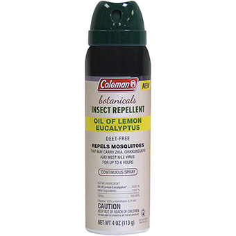 372872 4 oz Lemon Insect Repellent Spray