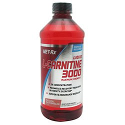 380311 16 oz. Liquid L-Carnitine 3000, Natural Watermelon