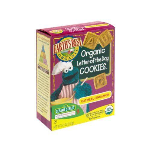 39154 Sesame Street Organic Oatmeal Cinnamon Cookies