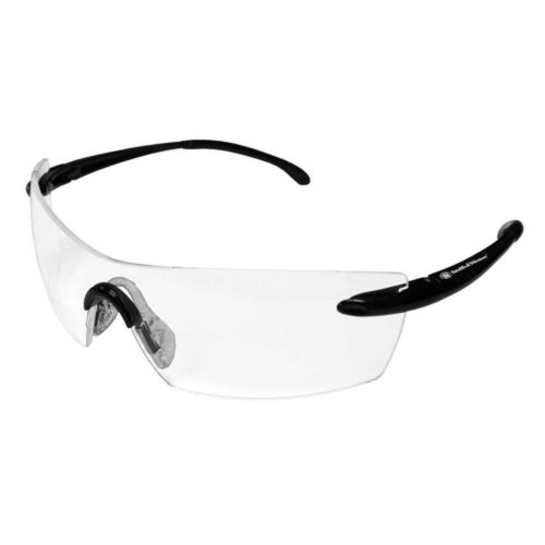 412-23006 3023024 Clear Anti-Fog Lense Caliber Safety Eyewear with Black Frame