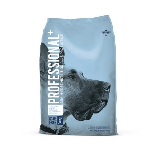 418343 28 lbs Professional Grain Free Large Breed Dog Food