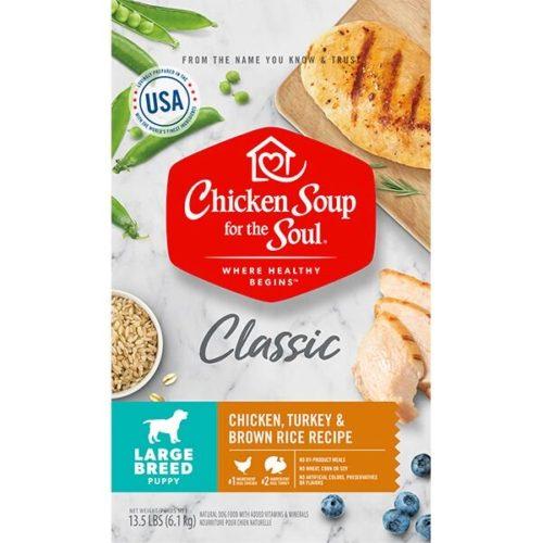 418418 No.13.5 Chicken Turkey & Brown Rice Recipe Large Breed Puppy Food