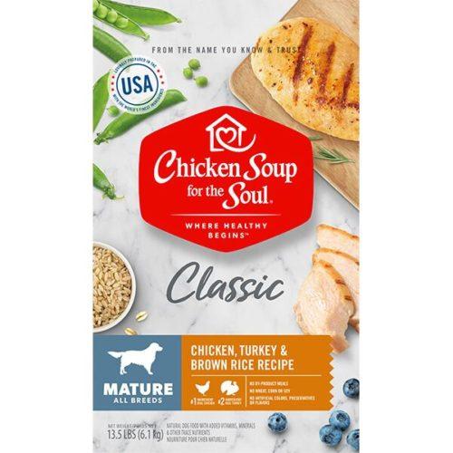 418426 No.13.5 Mature Care Chicken Turkey & Brown Rice Recipe Dog Food