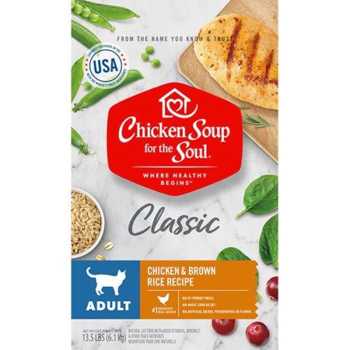 418434 13.5 oz Adult Chicken & Brown Rice Recipe Cat Food