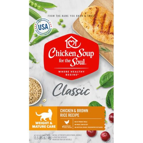 418436 No.13.5 Weight & Mature Care Chicken & Brown Rice Recipe Cat Food