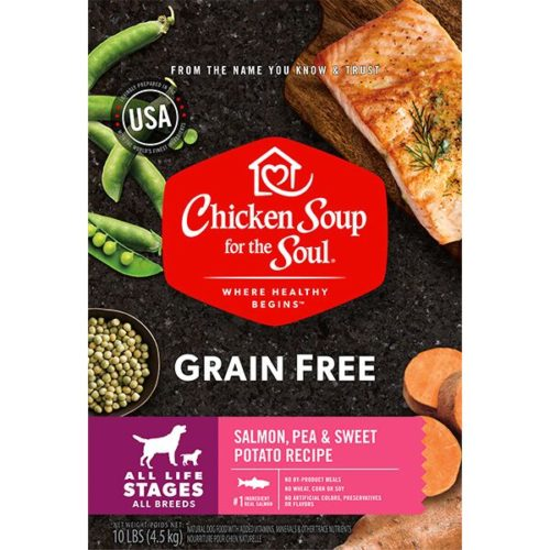 418450 No.10 Grain Free Salmon Pea & Sweet Potato Recipe Dog Food
