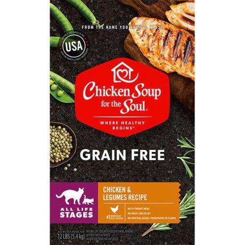 418459 No.12 Grain Free Chicken & Legumes Cat Food