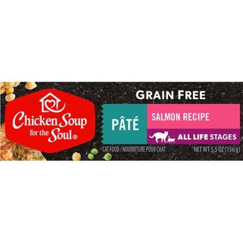418524 5.5 oz Grain Free Salmon Pate Cat Food