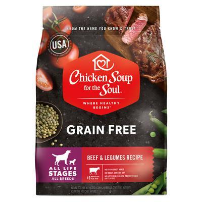 418547 No.10 Grain Free LID Beef & Legumes Recipe Dog Food