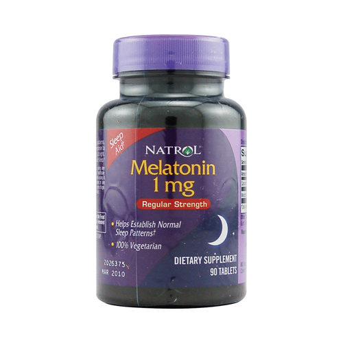 432146 Melatonin - 1 mg - 90 Tablets