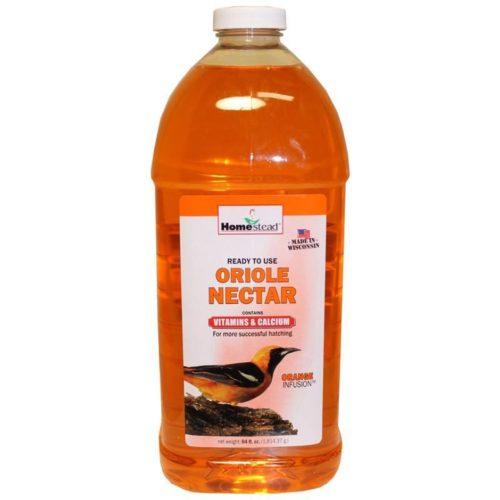 4370 64 oz Oriole Ready To Use Nectar, Orange