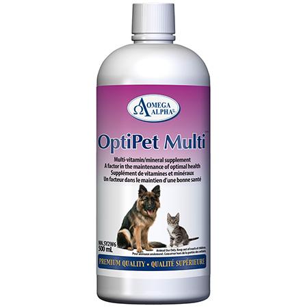 451308 4 oz OptiPet Multi Vitamin & Mineral Supplement