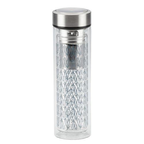 47517 Portable Infusing Beverage Bottle, 14 oz - Copper