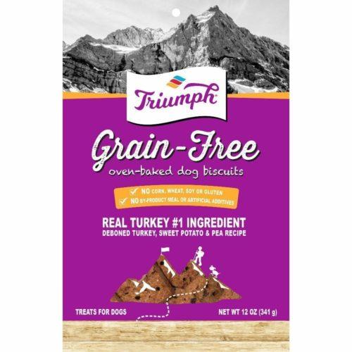 486134 12 oz Grain Free Dog Biscuits - Turkey, Sweet Potato & Peanut