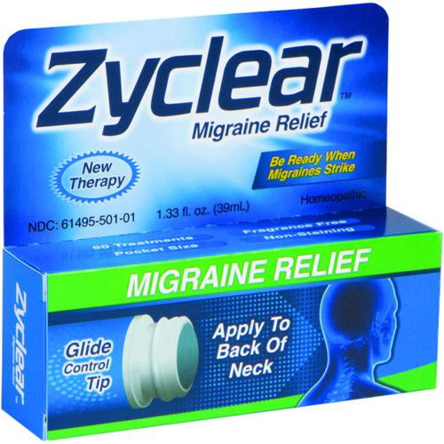490842 1.33 oz Zyclear Migraine Relief