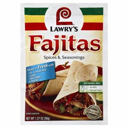 4935 1.27 oz. Fajitas Spices & Seasonings