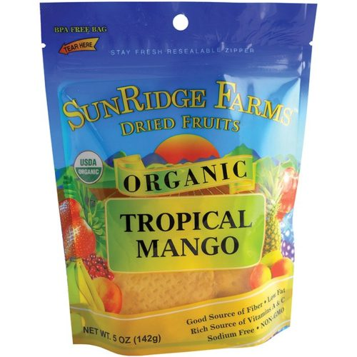 533052 Organic Mango Slices