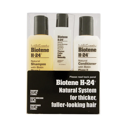 543306 Biotene H-24 Tri-Pack Shampoo Conditioner Scalp Emulsion - 1 Set