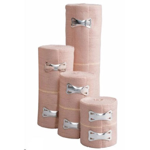 552370004LF 4 in. x 5 yards Elastic Bandage with Clip Closure