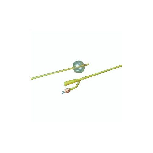 57123624A 24 fr Silcone-Elastomer Coated 2-Way Foley Catheter