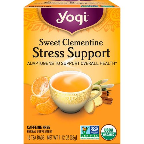 589698 16 Bag Sweet Clementine Stress Support Tea