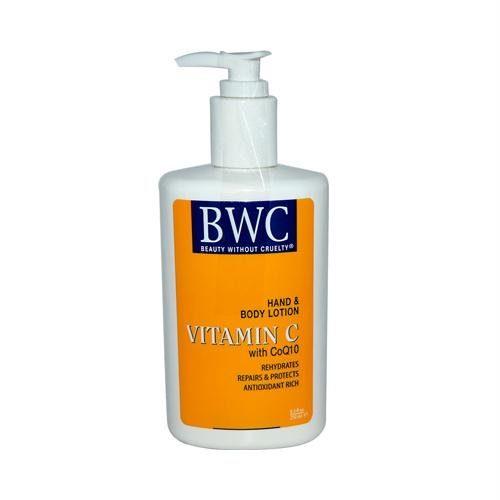 591057 Hand and Body Lotion Vitamin C Organic - 8.5 fl oz
