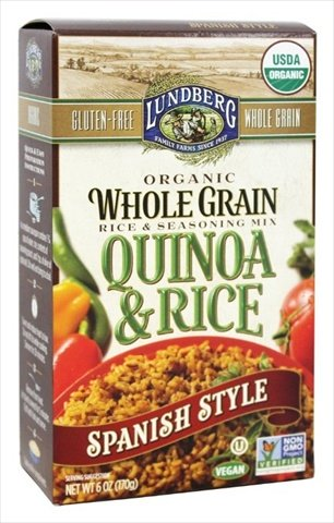 6 Ounce Organic Quinoa And Rice, Spanish Style