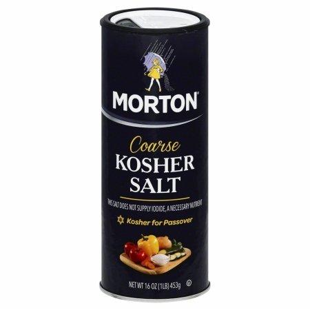 607196 16 oz. Salt Kosher Coarse Cnstr