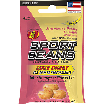 607619 1 oz Sport Beans Strawbery & Banana