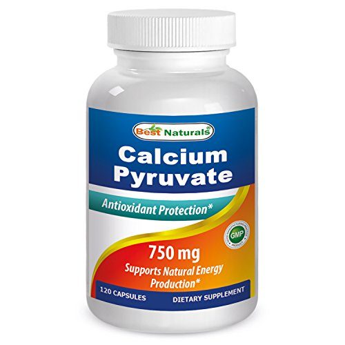614017 750 mg Calcium Pyruvate 120 Capsule