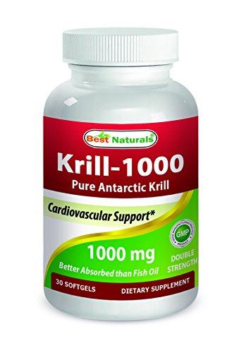 614472 1000 mg Krill Oil - 30 Softgel - 12 per Case