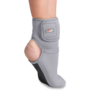 -6343-GR-1XL Thermal Vent Therapeutic Foot Relief, Grey - Extra Large