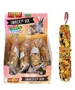 644128 Vitapol Smakers Small Animal Treat Stick - Vegetable - Pack of 12