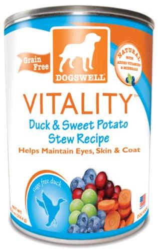 64474 Duck & Sweet Potatoe Can Food Vi