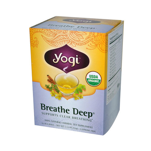671487 Tea Breathe Deep - Caffeine Free - 16 Tea Bags