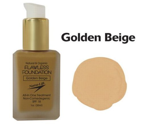 676896000686 Golden Beige Flawless Foundation