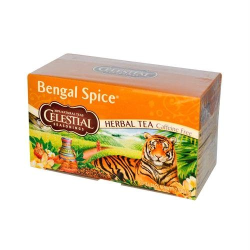 677922 Herbal Tea Caffeine Free Bengal Spice - 20 Tea Bags - Case of 6