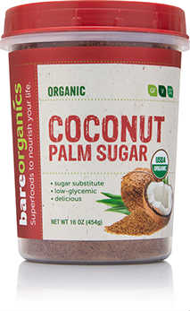 681866 16 oz Organic Coconut Palm Sugar - 6 Per Case