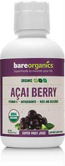 681925 16 oz Organic Acai Juice - 12 Per Case
