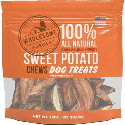 68277 Wholesome Pride Sweet Potato Chews - 16 oz