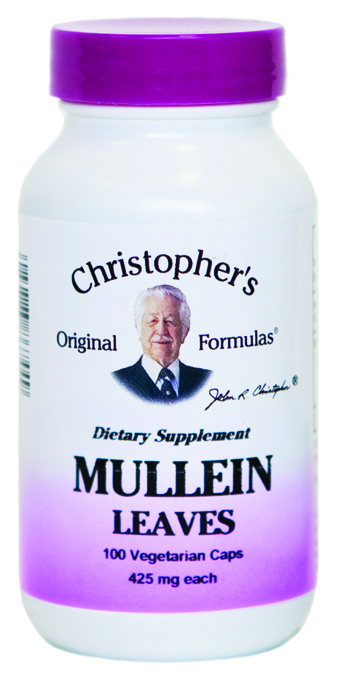 686760 Mullein Leaves - 100 Capsules
