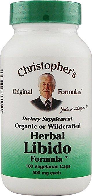 690007 Herbal Libido Formula - 100 Vegetarian Capsules
