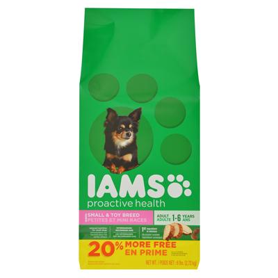 71109 6 Lbs. Adult & Small Dog Food