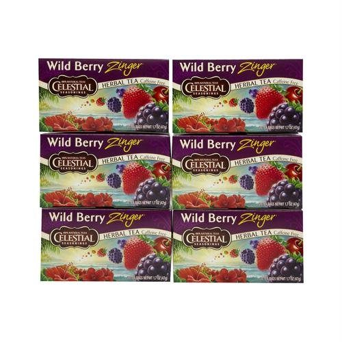 721266 Herbal Tea - Caffeine Free - Wild Berry Zinger - 20 Bags