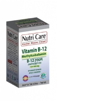 7290014981782 Nutri-Car Vitamin B12 Methylkaloamine 90 Toothpaste