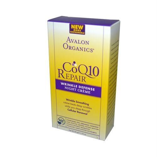 734640 Organics CoQ10 Wrinkle Defense Night Creme - 1.75 fl oz