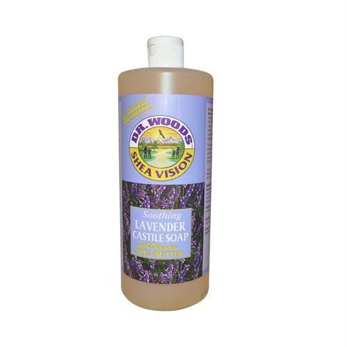 771436 Shea Vision Soothing Lavender Castile Soap - 32 oz